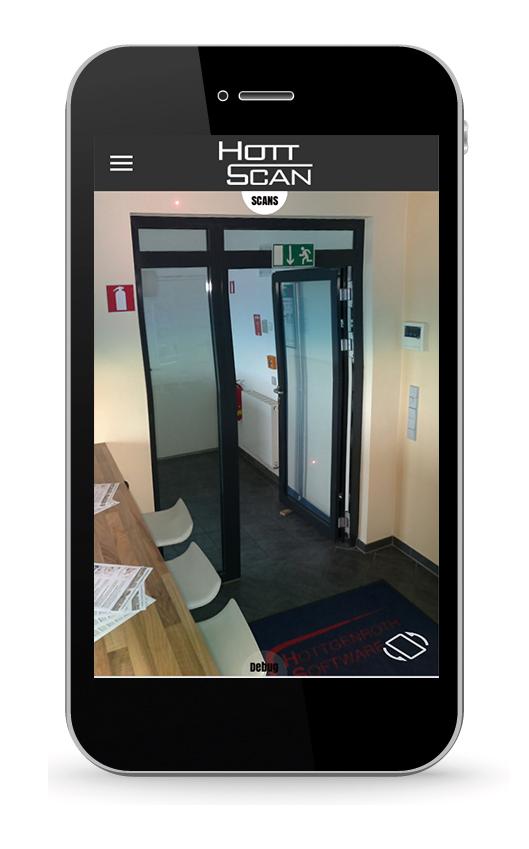 HottScan App, iPhone App